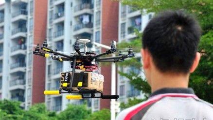 顺丰采用无人机解决偏远地区配送问题