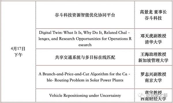 武汉:2021年运筹优化及人工智能研讨会预通知